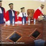 Classement des Juridictions Constitutionnelles d'Afrique Centrale.